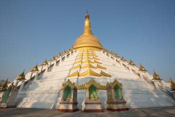 Mahazedi pagoda at Myanmar