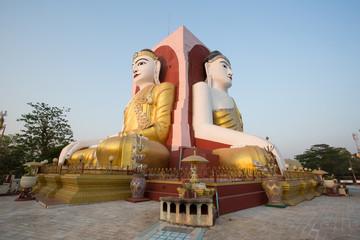 Kyaik Pun Pagoda at Bago, Myanmar