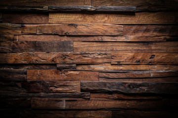 design of dark wood background Wall mural