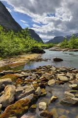 Wall Mural - Krajobraz wiejski, Norwegia