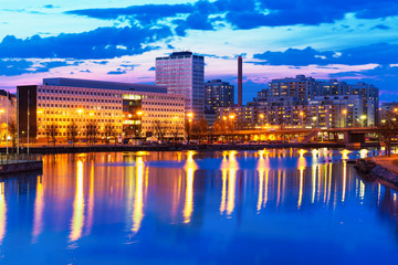 Wall Mural - Evening scenery of Helsinki, Finland