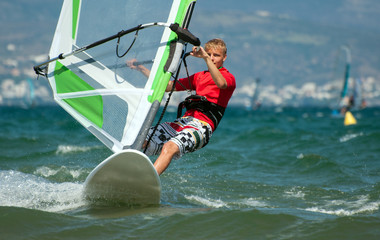Windsurfer/Teenager
