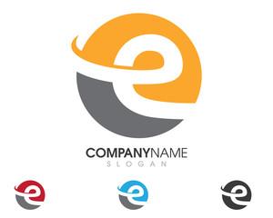 E Logo Template 1