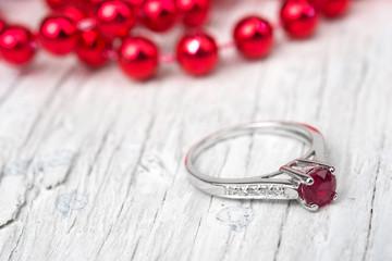 Wedding gift Engagement Ring
