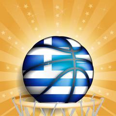 Greeks basket ball, vector