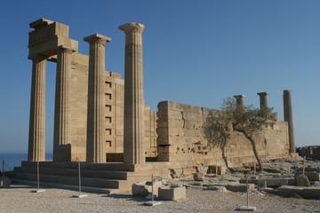Lindos Acropolis Rhodes Island Greece 11