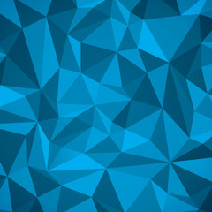 Abstract vector geometry background, blue planes