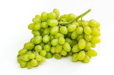 Grapes brunch closeup isolated