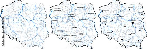 Mapa Polski Obrazów Stockowych I Plików Wektorowych Royalty Free W
