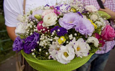 Huge bouquet of flowers