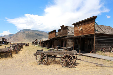 Ghost town - Cody / Wyoming  Wall mural