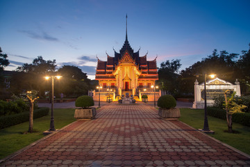 The temple in Songkhla,Thailand