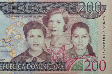 mirabal sister dominican banknote