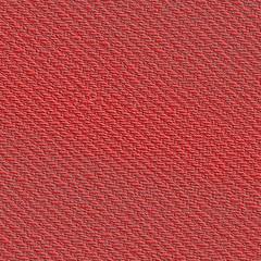 red denim fabric closeup