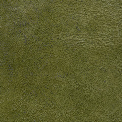 old worn green leather texture. Useful as background