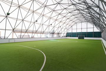 indoor football hall