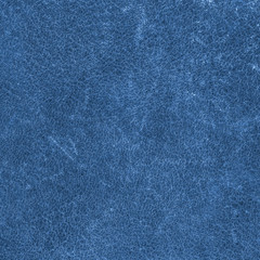 blue scratched leather texture