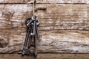 alter Schlüsselbund