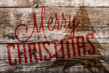 Holzkiste Fröhliche Weihnachten