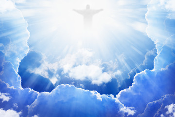 Jesus Christ in heaven Wall mural