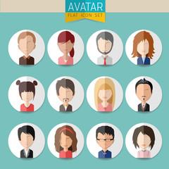 Avatar Social Network stylish Set