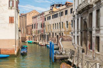 Foto auf Gartenposter Stadt am Wasser The Enduring Beautiful and Romantic Venice Italy