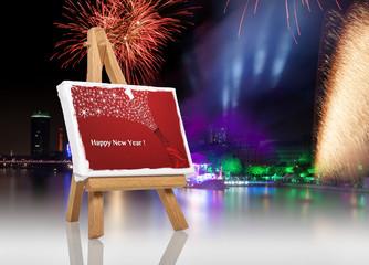 Guten Rutsch ins neue Jahr © Matthias Buehner