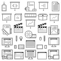 Designer Website Icons