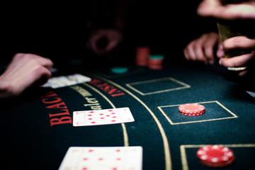 Blackjack gambling