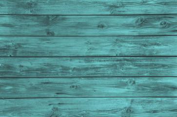 Holz Hintergrund in türkis grün oder petrol