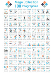 MEGA COLLECTIONS 100 INFOGRAPHICS CLOUD TIMELINE BUSINNESSMAN