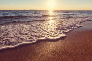 Poster Sea sunset Sea sunset