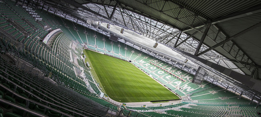 Fotobehang Stadion Stadion miejski we Wrocławiu