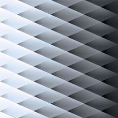 Retro background, pattern rhombs, transition light to dark