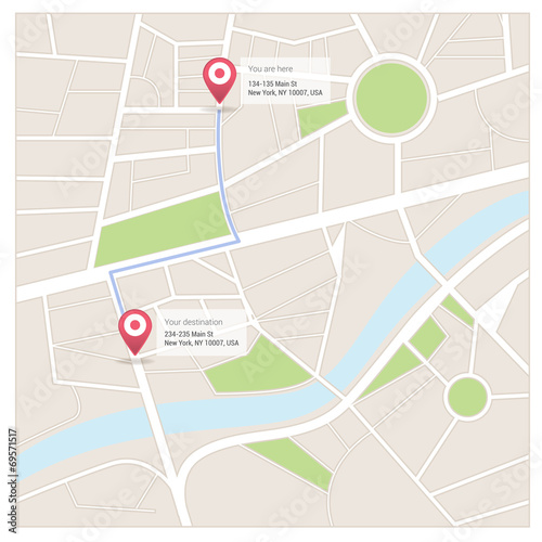 Street map and directions stock image and royalty free vector street map and directions publicscrutiny Choice Image