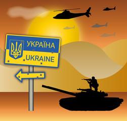 Angriff auf die Ukraine