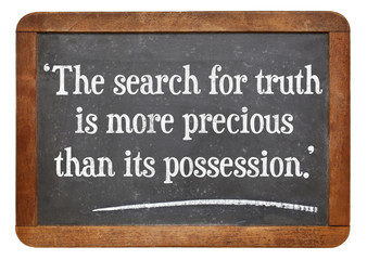 search for truth quote