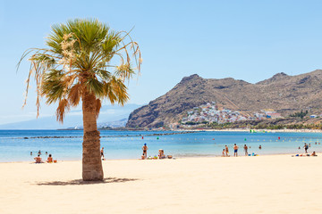 Las Teresitas Beach on Tenerife