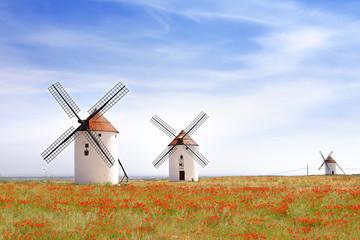 Windmills in Mota del Cuervo.
