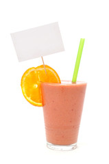 Smoothie white note