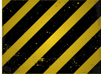 Yellow-black industrial construction background