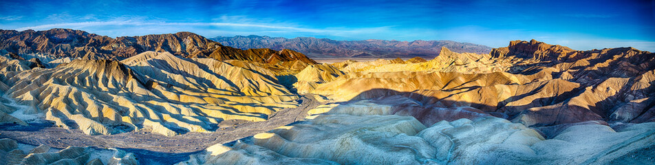 Sunrise over Zabriskie Point Wall mural
