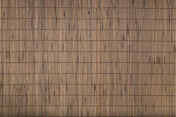 Bamboo mat background.
