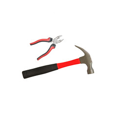 Hammer and pliers
