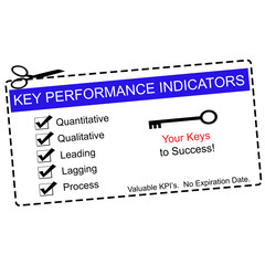 Blue Key Performance Indicators Coupon
