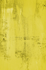Yellow old wooden background