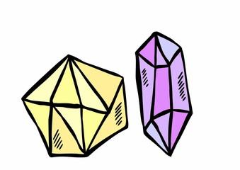Doodle diamond