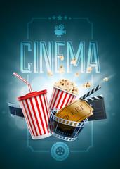 Cinema Poster Design Template