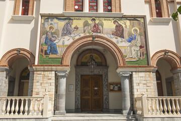 Orthodoxe Kirche Aghia Triada in Aghios Nikolaos, Kreta, Greichenland