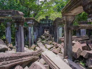 カンボジア アンコール遺跡群 ベンメリア
